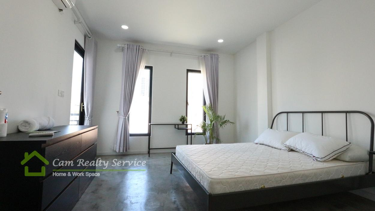 Russian market area| Modern style 1 bedroom serviced apartment available for rent| 450$/month