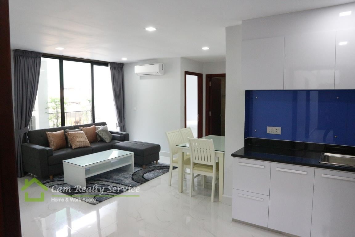 BKK1 area| Western style 2 bedrooms serviced apartment available for rent| 750$/month