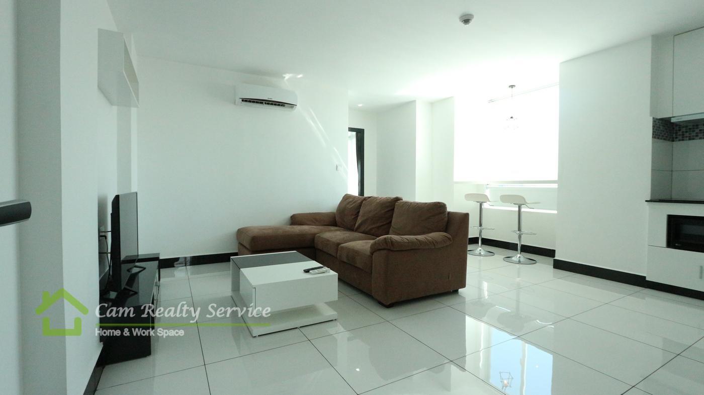 BKK3 area| Modern style 1 bedroom serviced apartmen for rent| 810$/month| Pool, gym, steam & sauna