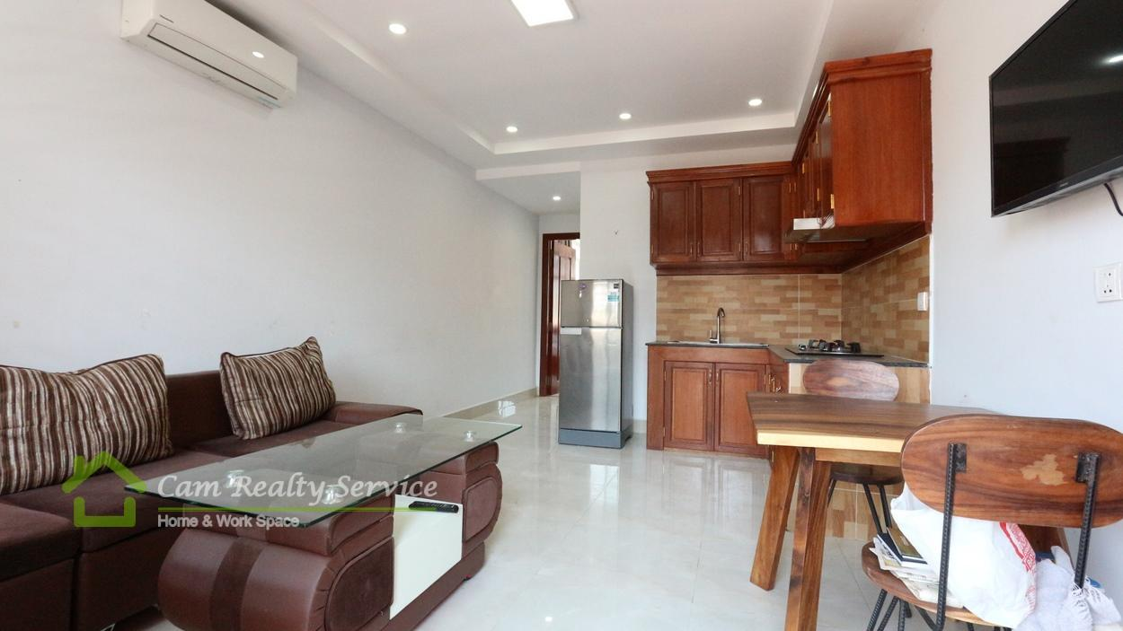 BKK3 area| Very nice 1 bedroom apartment available for rent| 300$/month