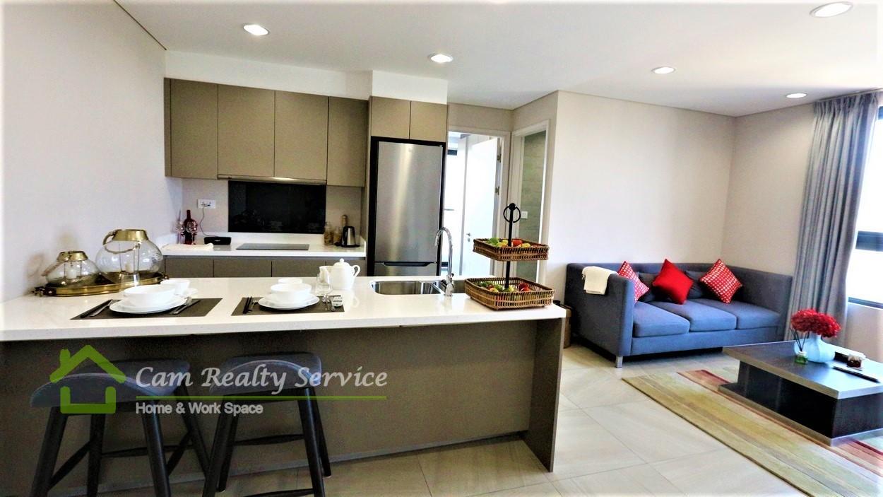 Toul Kork Area Brand new Japanese style design 1 bedroom 2bathroom condominium for sale   310,905$ (negotiable)