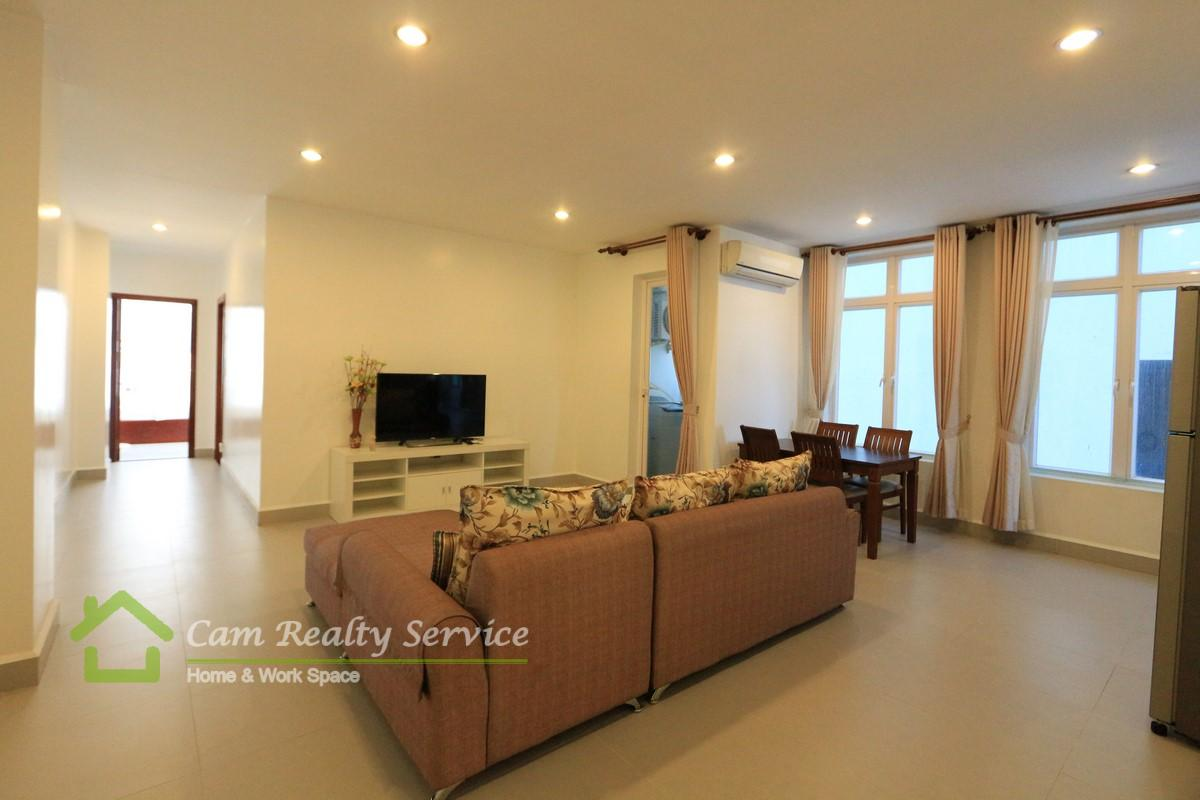Russian Market area  Spacious modern style 2 bedrooms serviced apartment for rent  800$/month up  Gym & Pool