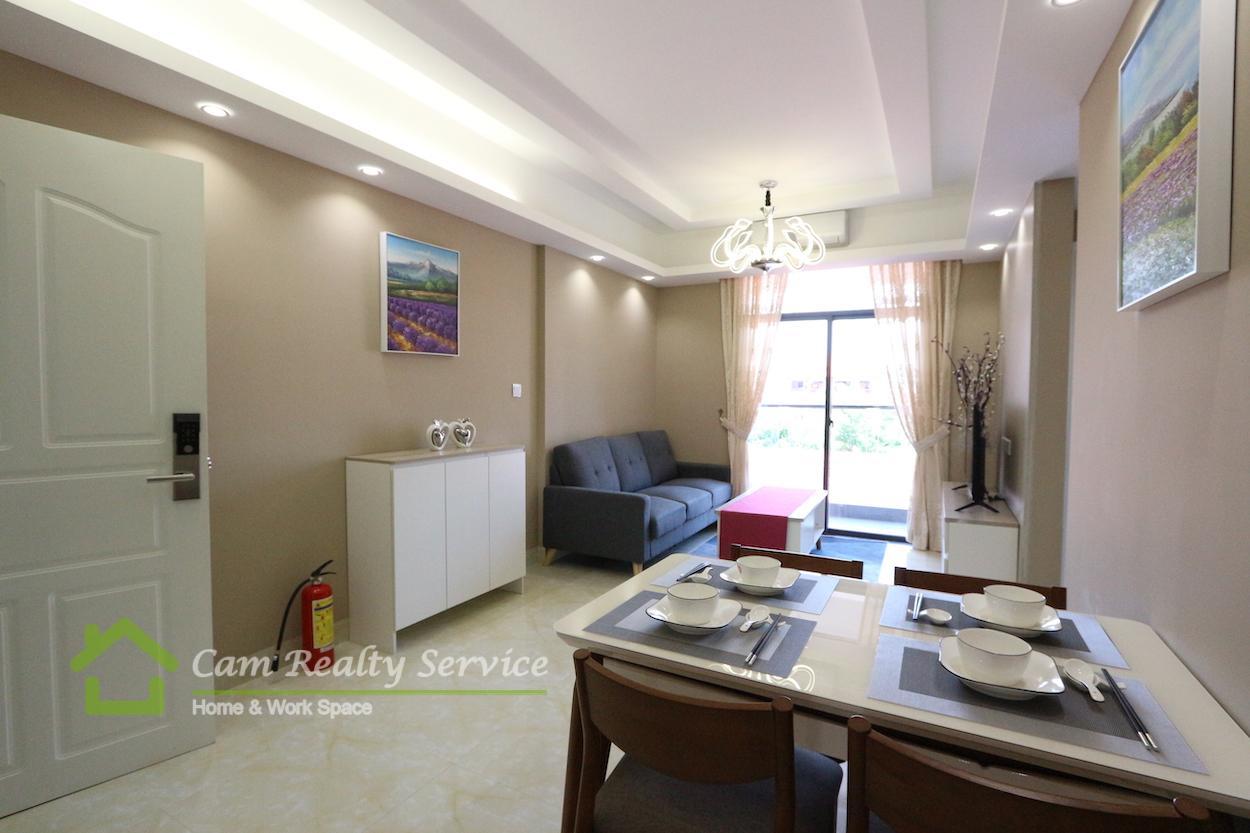 BKK1 area  Under construction new modern style 2 bedrooms 1 bathrooms condominium for sale 166,764$