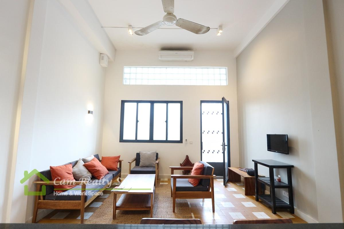 Central Market Area|Modern style renovated house| 2 bedroom 1 bathroom available for rent 450$/month