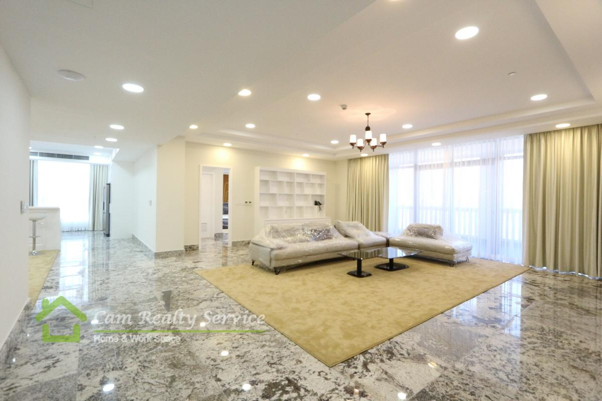 BKK1 area| Spacious 3 bedrooms penthouse serviced apartment for rent| 7000$/month