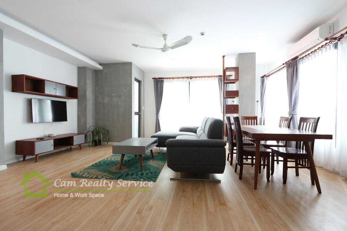 Southern of Russian market area| Modern and nice 2 bedrooms serviced apartment available for rent 850$/month up|Gym & sauba|Phnom Penh