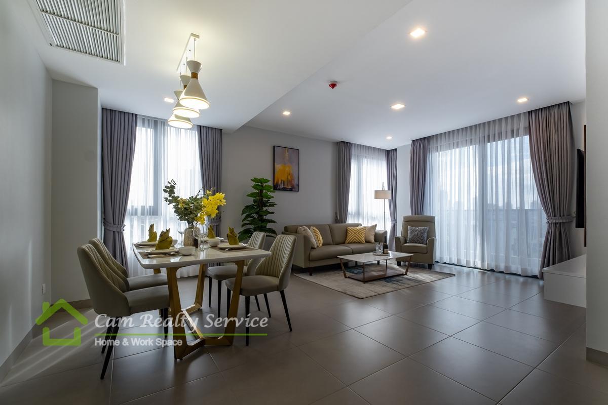 BKK1 area| Brand new 1 bedroom, 2 bedrooms & 3 bedrooms apartment for rent| 900$/month up| Pool, gym, steam, sauna & sky bar