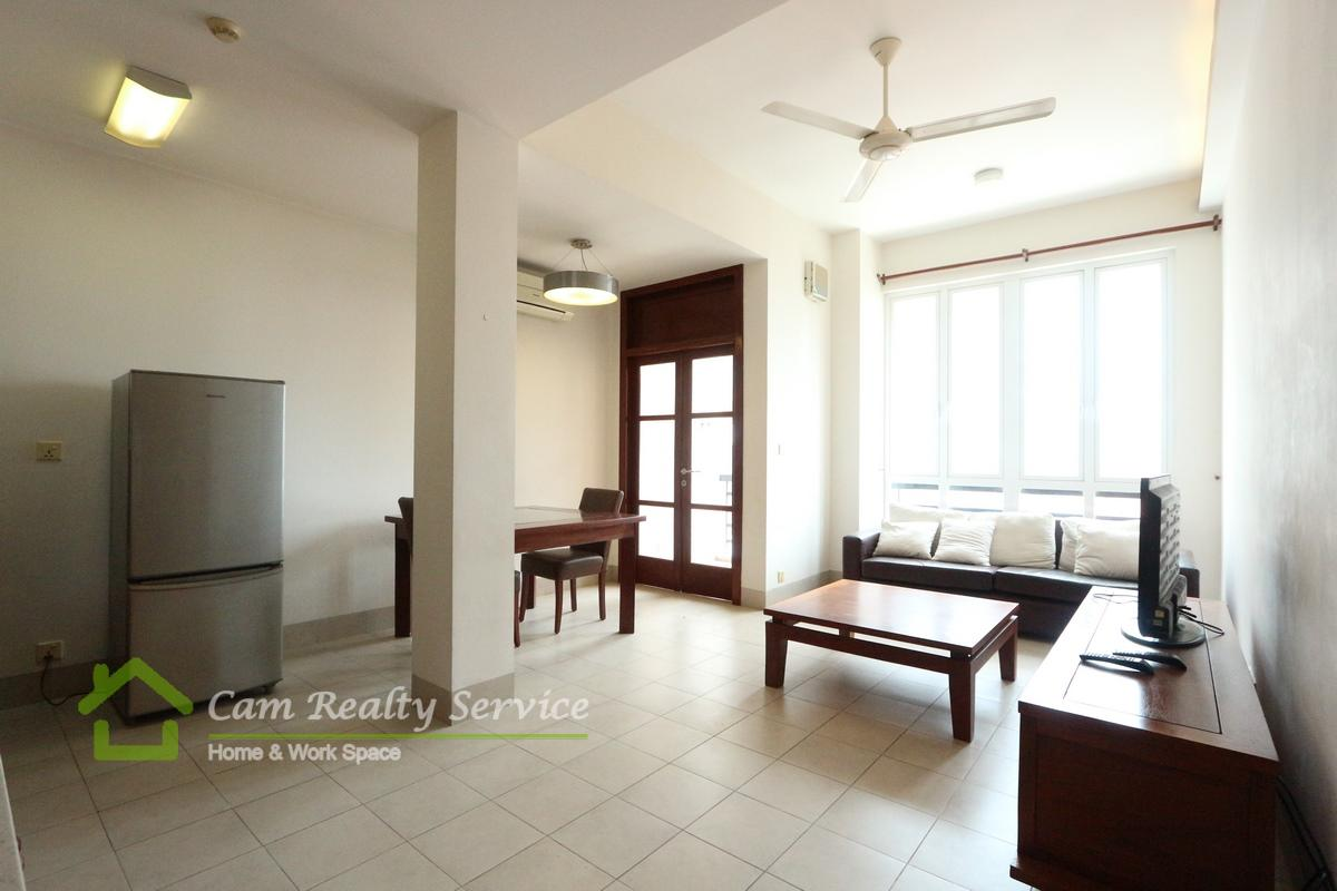 BKK1 area| Spacious 1 bedroom apartment available for  rent| 650$/month UP| Gym
